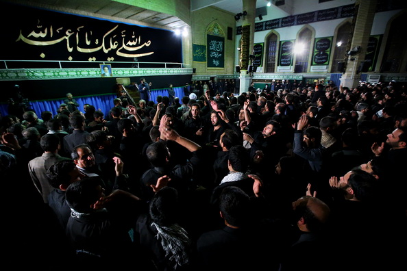 Photo of Mourning in Ashura in Iran
