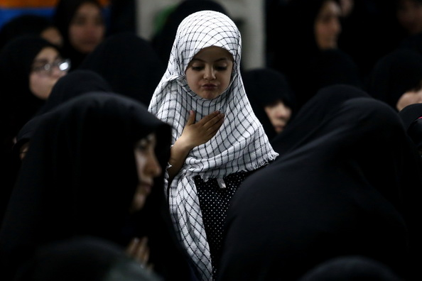 Women Mourning for Imam Hussein