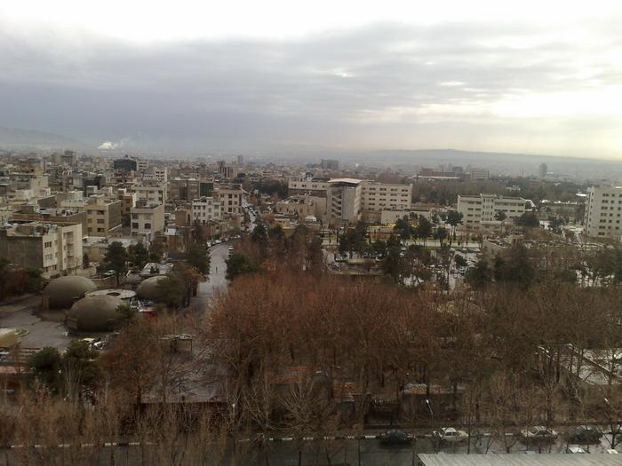 شاید بهترین عکسی که از تهران گرفته ام!