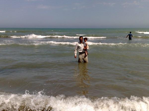 ساحل دریای خزر - شهر ساری