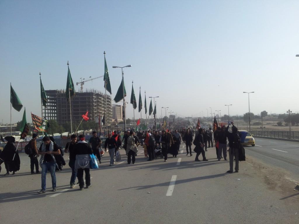 Biggest gathering in the world - Arbaeen 2014 - بزرگترین اجتماع پیاده دنیا، اربعین 1436