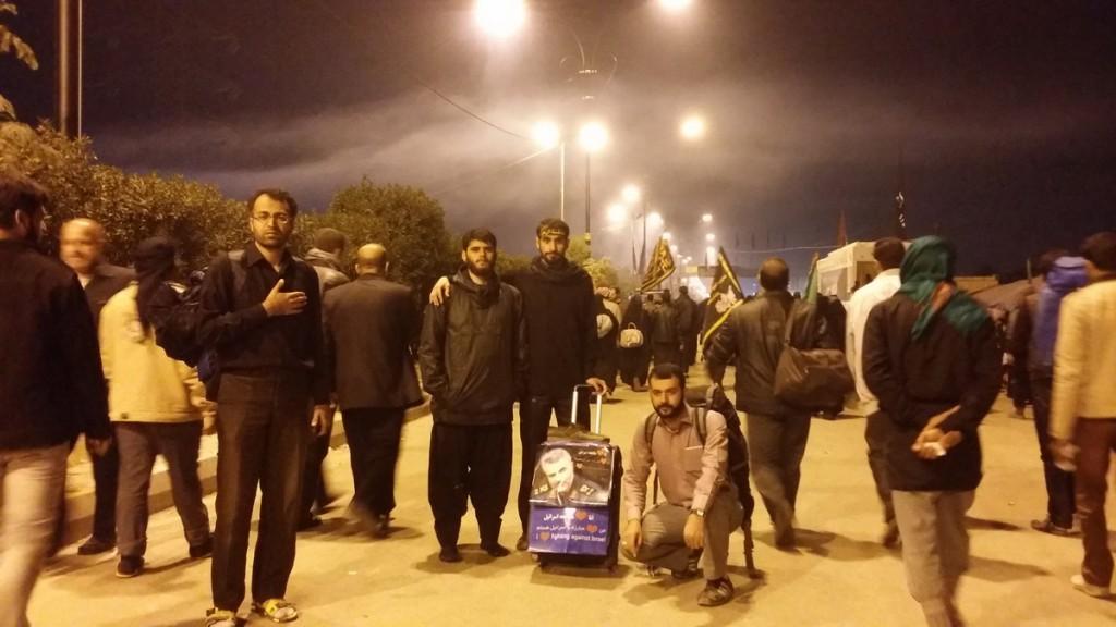 Walking at Night towards Karbala - پیاده روی در شب، زیارت اربعین 1393
