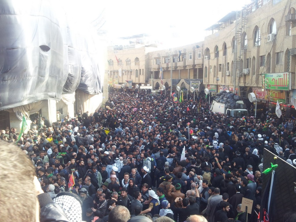 Millions of People Outside Haram of Imam Hussein in Arbaeen 2014 - جمعیت میلیونی اطراف حرم امام حسین در اربعین