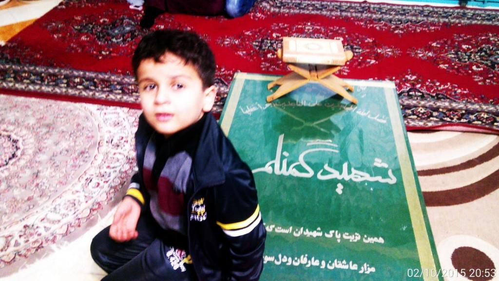 تجدید میثاق با شهدا در شب 22 بهمن 93