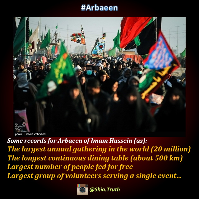 Arbaeen Records - Largest Gathering - Shia Truth