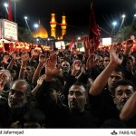 Lamentation of Shia Muslims in Karbala (Iraq), Between Two Tombs of imam Hossein and Hazrat Abalfazl