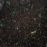 Assembly of Shia Women in Karbala, Ashura 2013