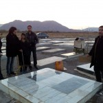 visiting the grave of grand father
