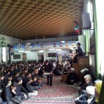 People gathered in memory of Muharram 61 AH
