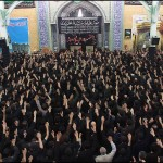 Azadari of Shia Moslems in Iran. Muharram 2013 Ashura