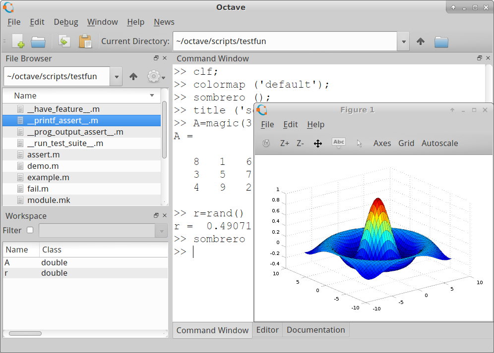 Octave-4.0.0 - گنو اکتاو - اکتیو جایگزین متلب
