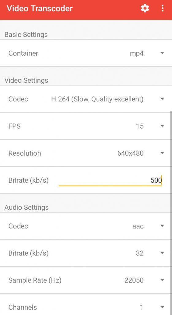 کاهش حجم فیلم اندروید