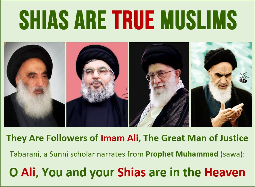 Shia islam is true Islam and Shia Muslims are True Muslims