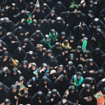 Mourning Women in Karbala, 2013-Muharram-13