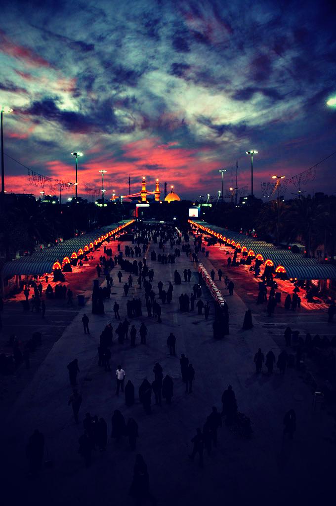 Holy Shrines of Karbala, Imam Hussein and Abalfazl