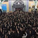 Azadari of Shia Moslems in Iran. Muharram 2013 Ashura