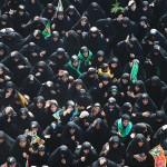 Mourning Women in Karbala, 2013-Muharram-13