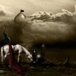 Ashura Picture: Zoljanah, Horse of Imam Hossein